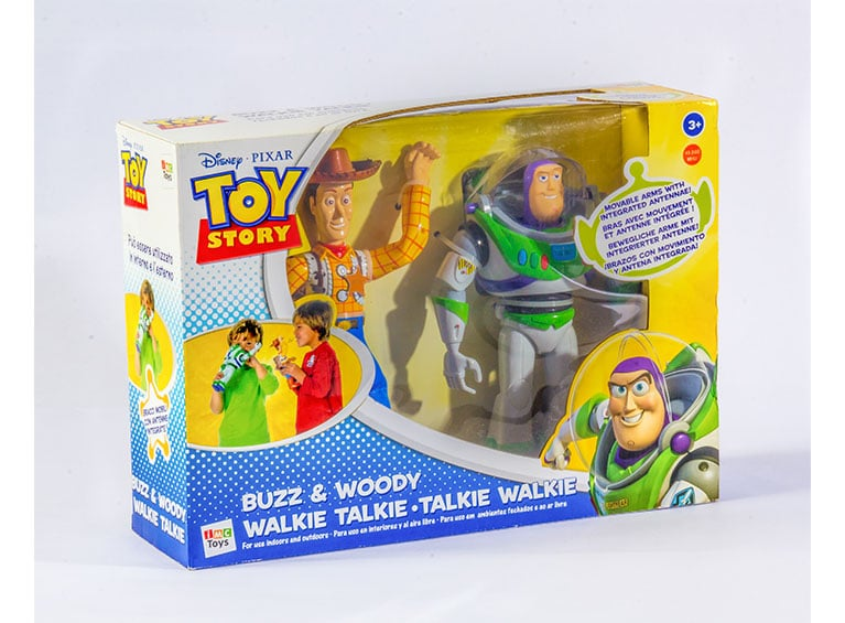 Walkie Talkie Buzz y Woody