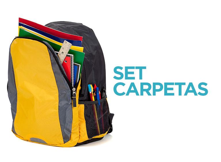 Set carpetas