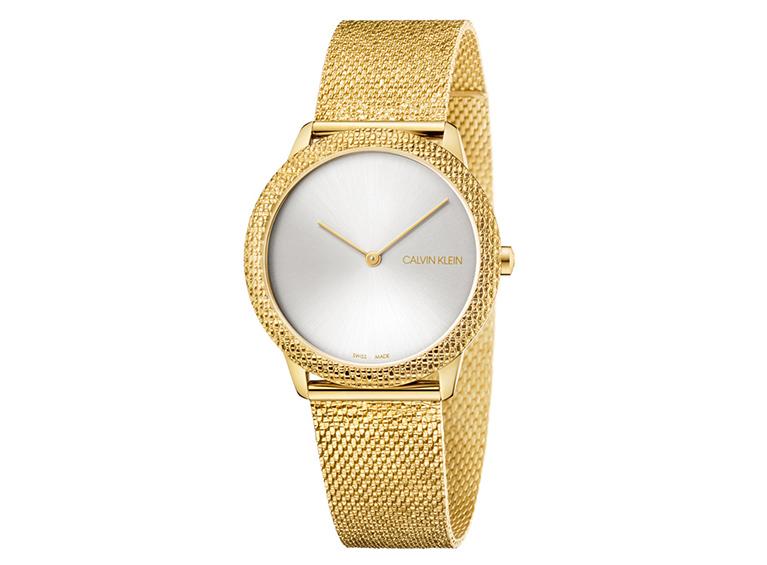 Reloj Minimal Dorado