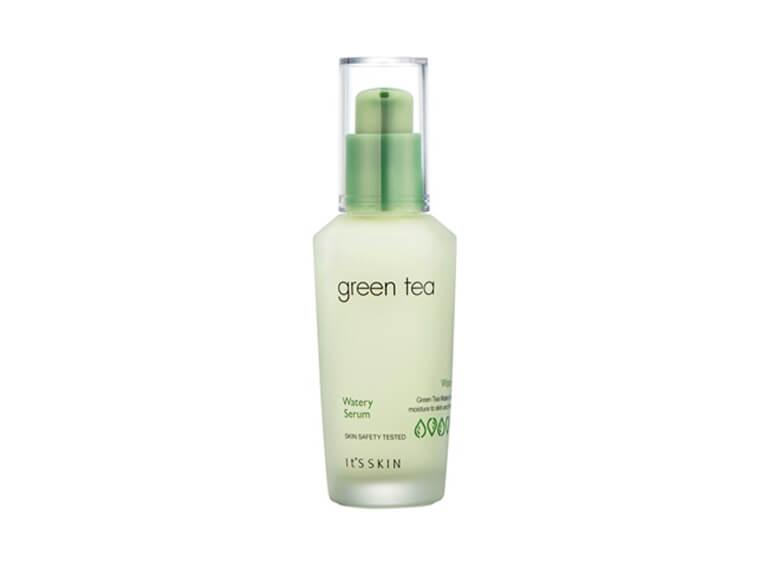 Suero de té verde