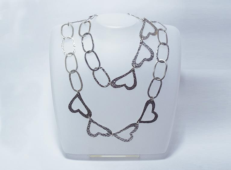Collar Plata I59