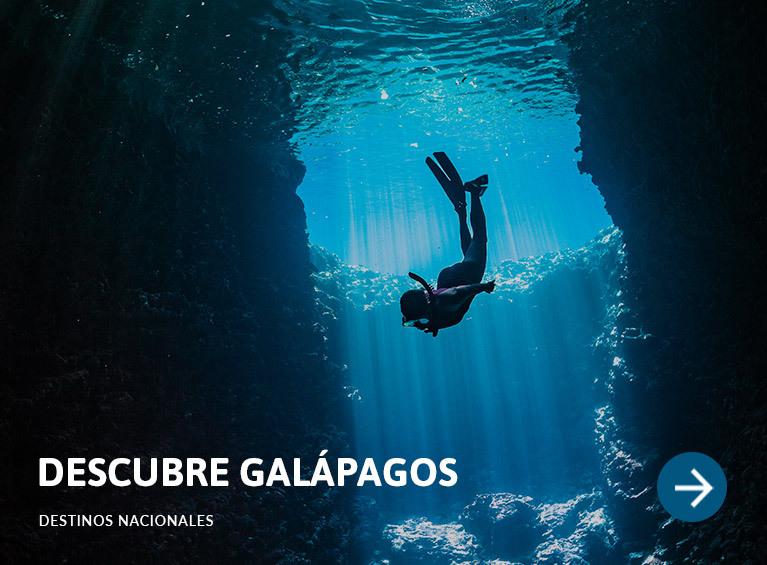 Descubre Galápagos
