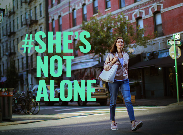She´s not Alone
