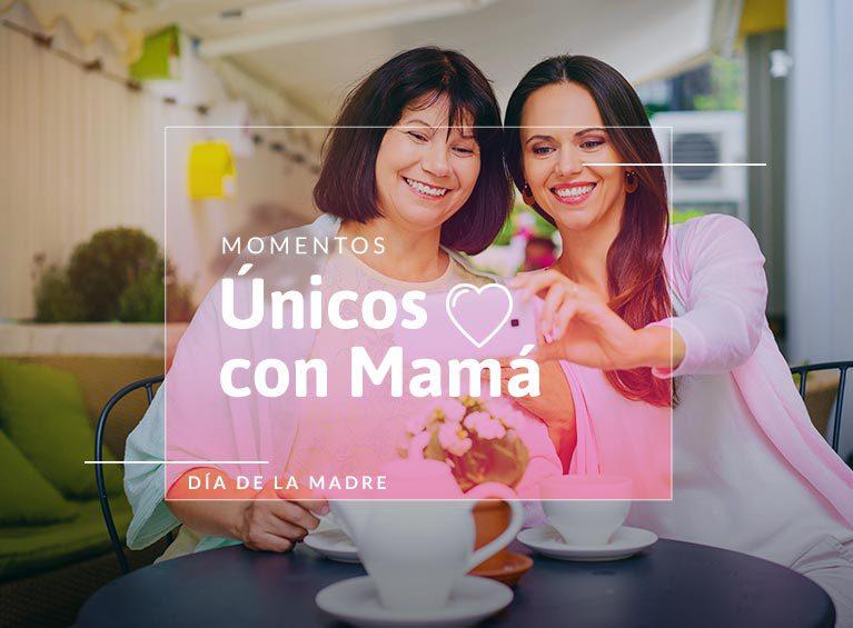 Momentos  únicos con mamá