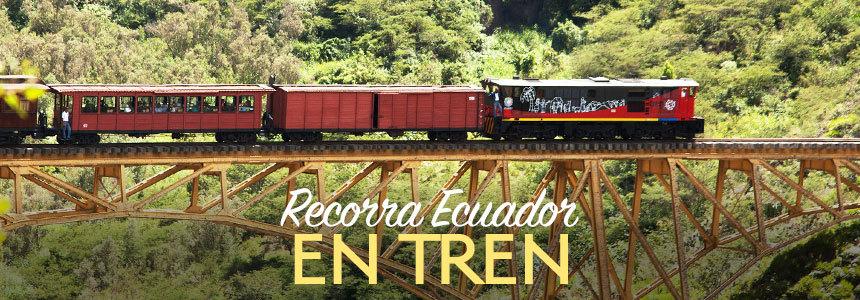 Recorra Ecuador en Tren